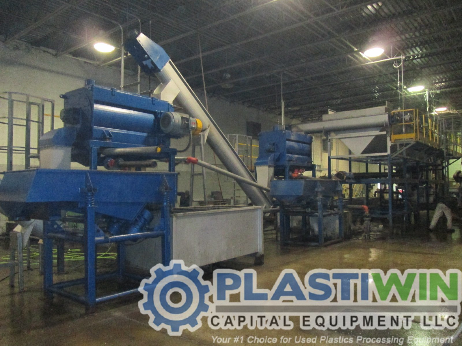 plastic bottle recycling machine wash line